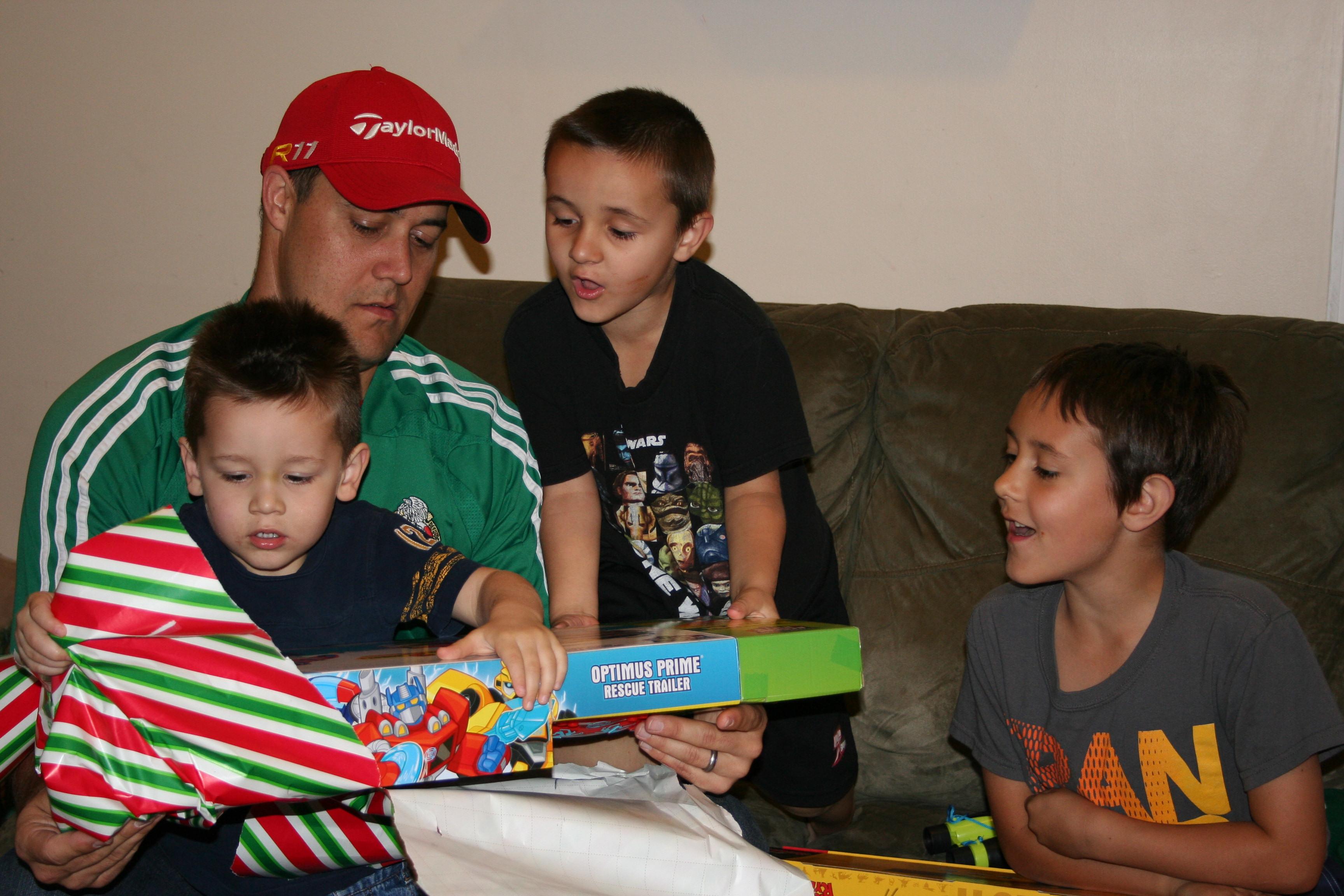 4 boys present