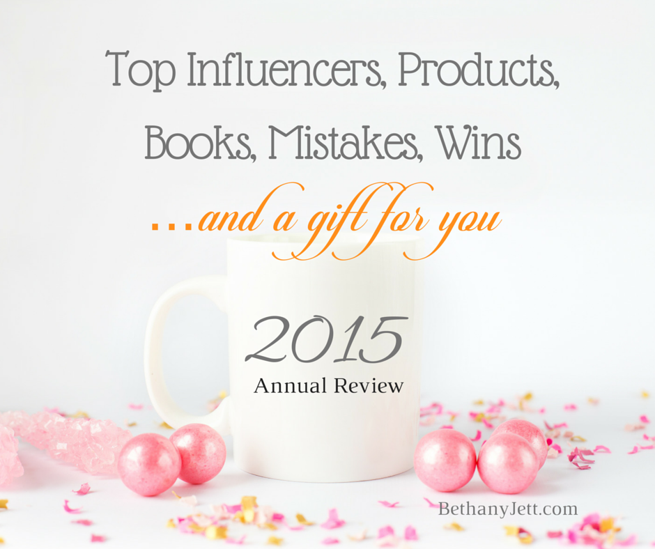 Top Influencers, Programs, Books, Mistakes, Wins, & a Gift for You