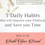 5 Daily Habits Blog featured image