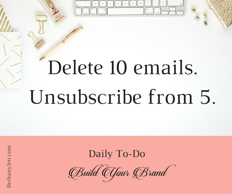 Daily to-do_ Build Your Brand Emails FB