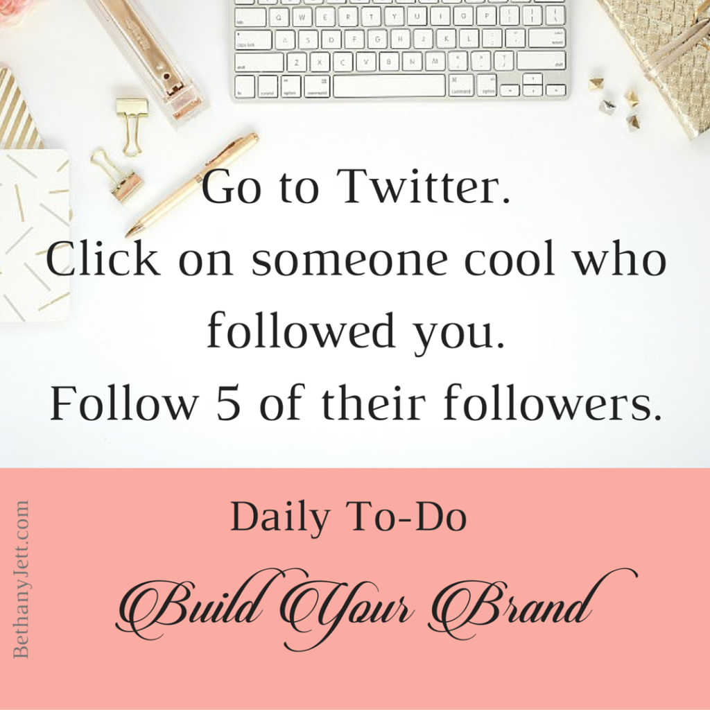 Daily to-do_ Build Your Brand - Twitter IG