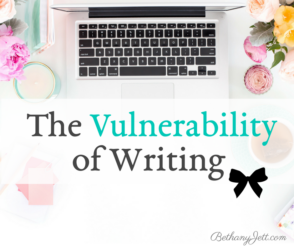 The Vulnerability of Writing