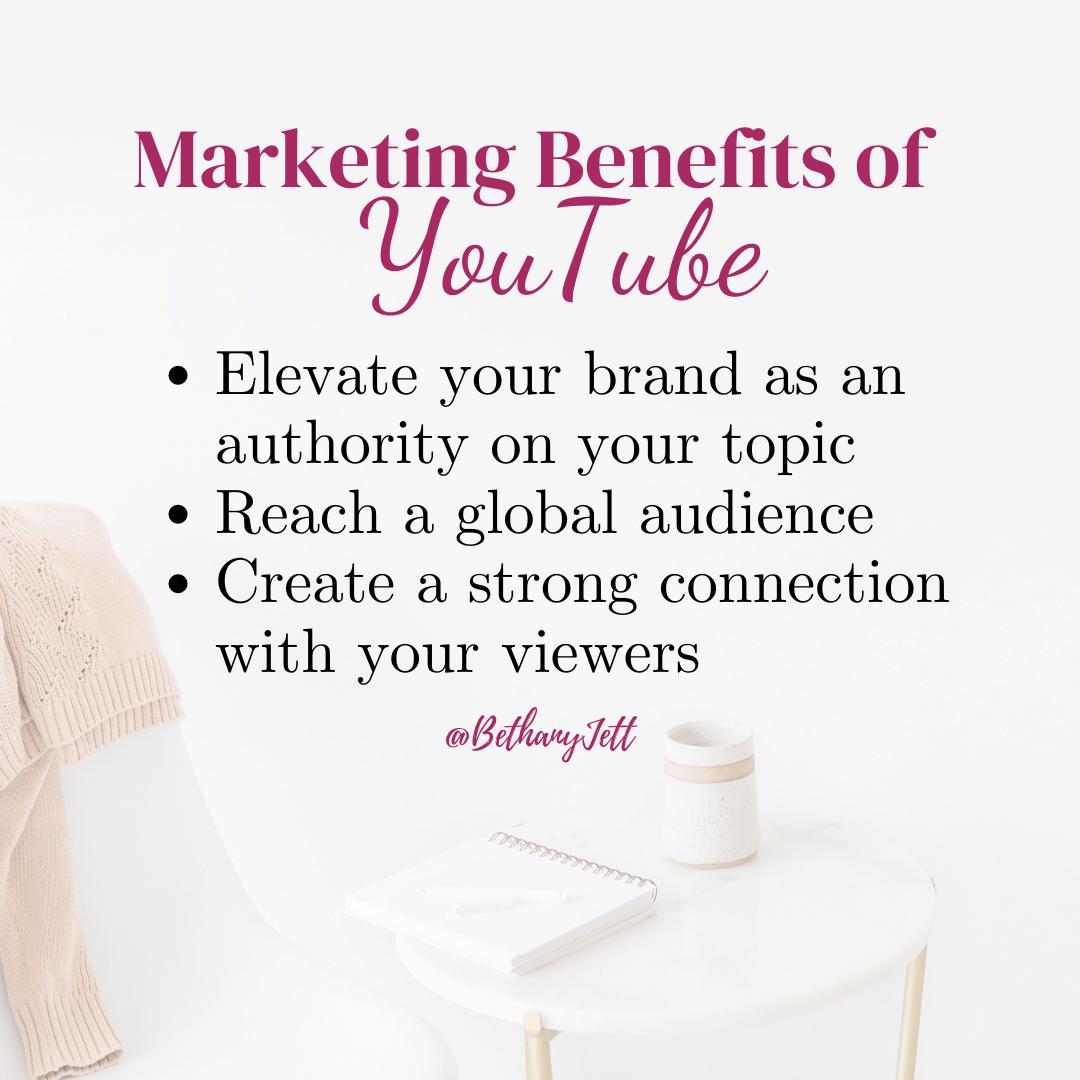 Marketing Benefits of YouTube